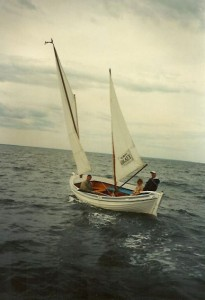 Open ocean sailing at its best